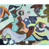 Image of Regina Gately African Goddess Contemporary Painting For Sale