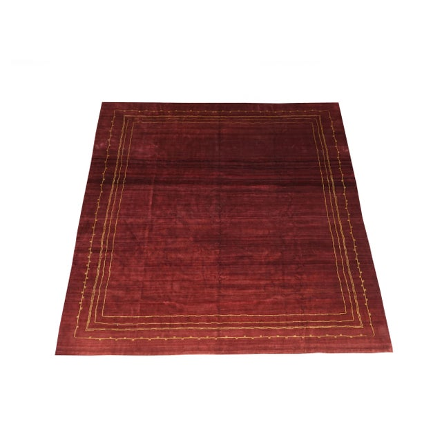 Boccara Exclusive monochrome wool rug, Bordeaux Manufactured by Boccara Material: New Zealand wool Dimensions: 425 x 410...