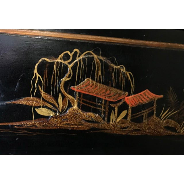 Asian Chinoiserie Chest of Drawers For Sale - Image 3 of 12
