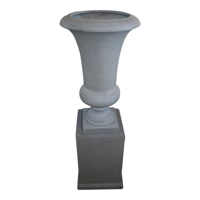 Westgate Urn & Pedestal - A Pair For Sale