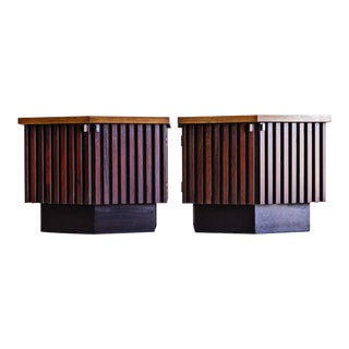 1960s Mid-Century Modern Lane Tower Suite Nightstands - a Pair For Sale