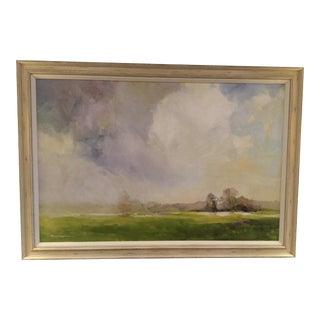 Ethan Allen Misty Landscape Canvas Print