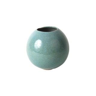 Vintage Glidden Art Blue Pottery Vase
