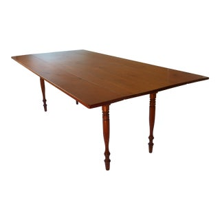Early 20th Century Antique Harvest Dining Table For Sale