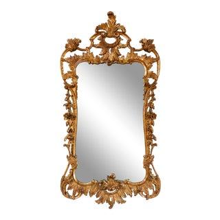 Baroque Rococo La Barge Giltwood Wall Mirror For Sale