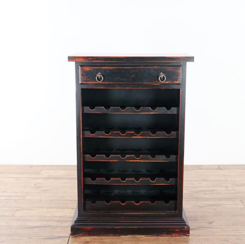 Crate Barrel Wooden Wine Rack Chairish