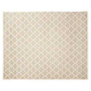 "Stark Studio Rugs Contemporary Linen Soumak Rug - 9'10"" X 13'9"" For Sale"