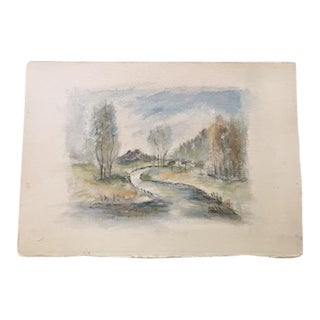 Early 19th Century British Watercolor Painting For Sale