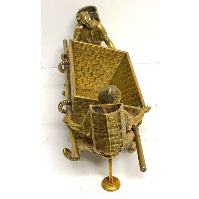 Metal 19th Century French Chinoiserie Ormolu Caddy For Sale - Image 7 of 13