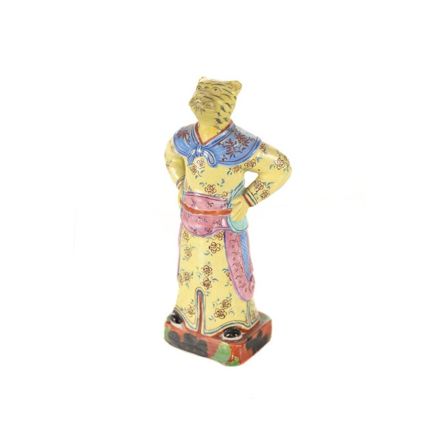 Vintage Chinese Zodiac Porcelain Figurines - Set of 12 For Sale - Image 7 of 9