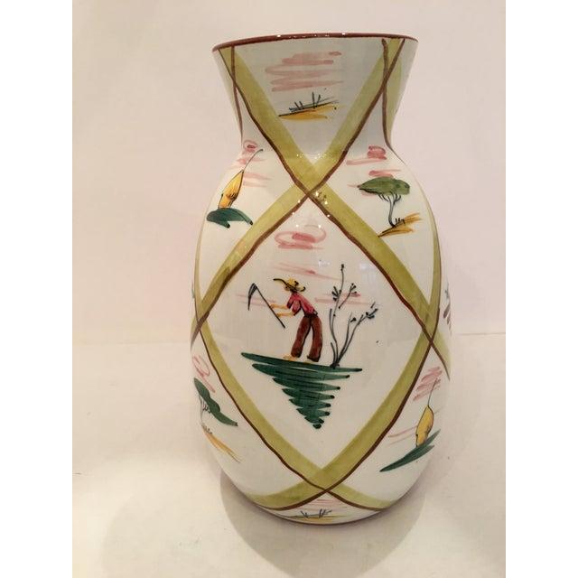 Italian Majolica Donkey Vase - Image 4 of 11