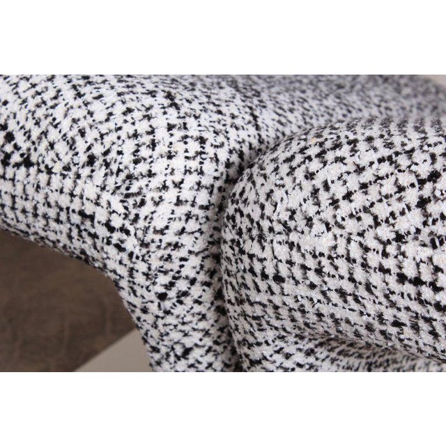 Fabric Pierre Paulin for Artifort Ribbon Chair For Sale - Image 7 of 11