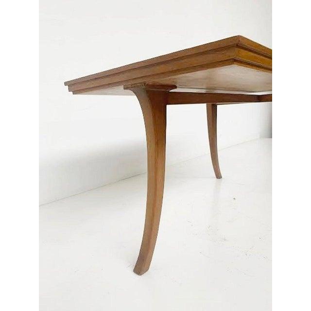 Saridis Tripod Coffee Table by t.h. Robsjohn-Gibbings Klismos for Saridis - Greece 1960 For Sale - Image 4 of 5