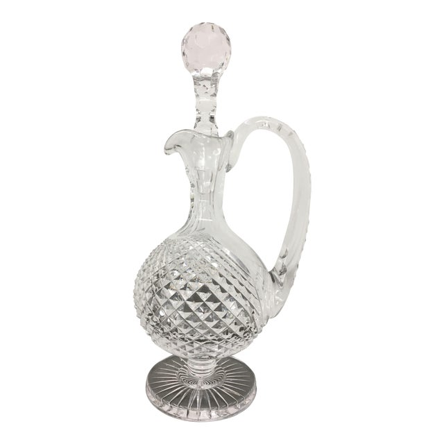 1970s Waterford Claret Prestige Collection Decanter For Sale