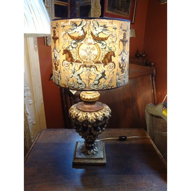 Italian 19th Century Single Lamp For Sale - Image 10 of 11