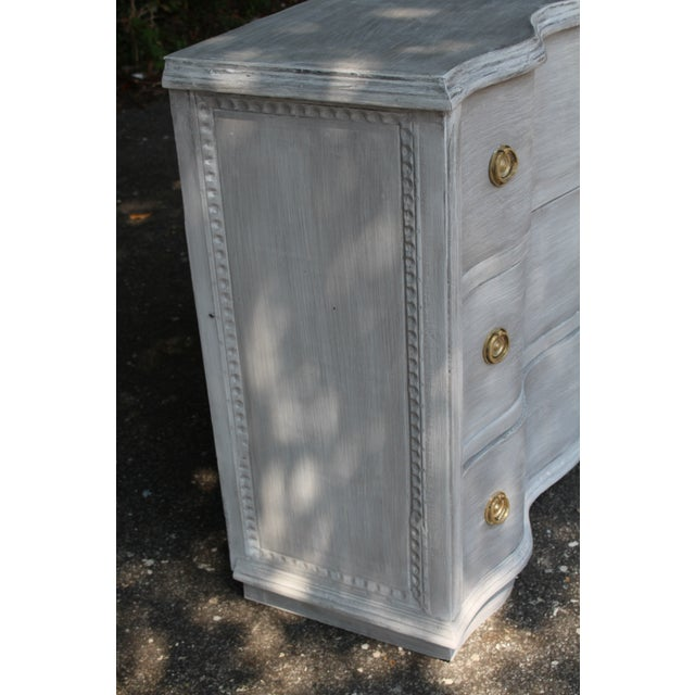 Vintage Mid-Century French Country Chest of Drawers For Sale In Atlanta - Image 6 of 9
