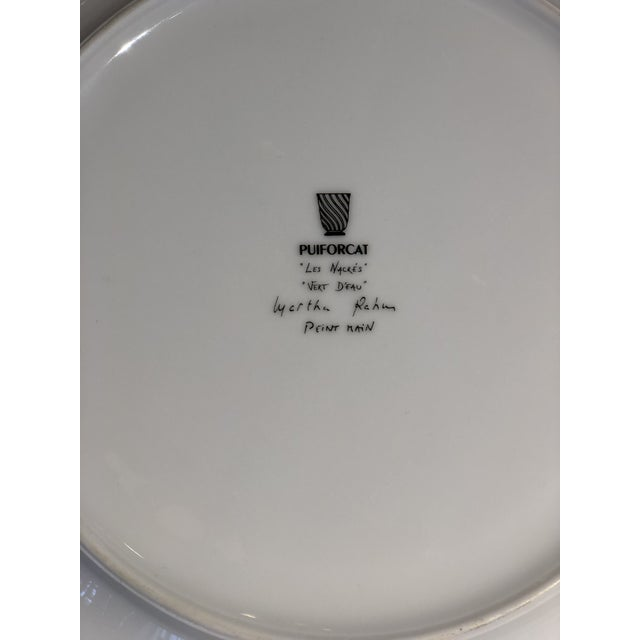 Set of Six Galuchat Plates by Manuel Canovas for Puiforcat For Sale - Image 9 of 13