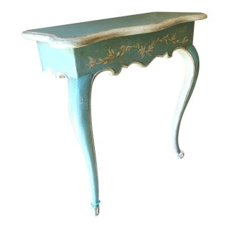 19th C. Louis XV Painted Console For Sale