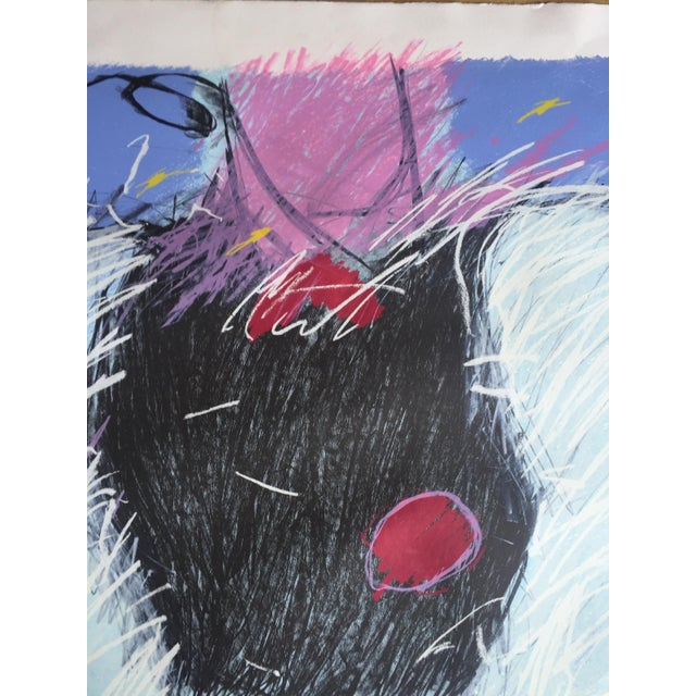 1984 Mixed Media Abstract Figure - Image 4 of 10