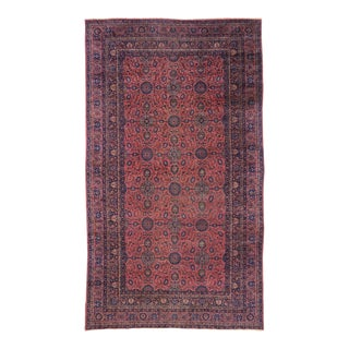 Antique Turkish Sparta Palace Size Rug With Regency Venetian Style - 10'00 X 17'03 For Sale