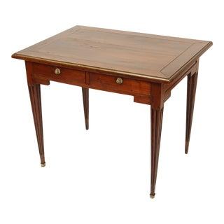 18th Century Louis XVI Mahogany Writing Table For Sale