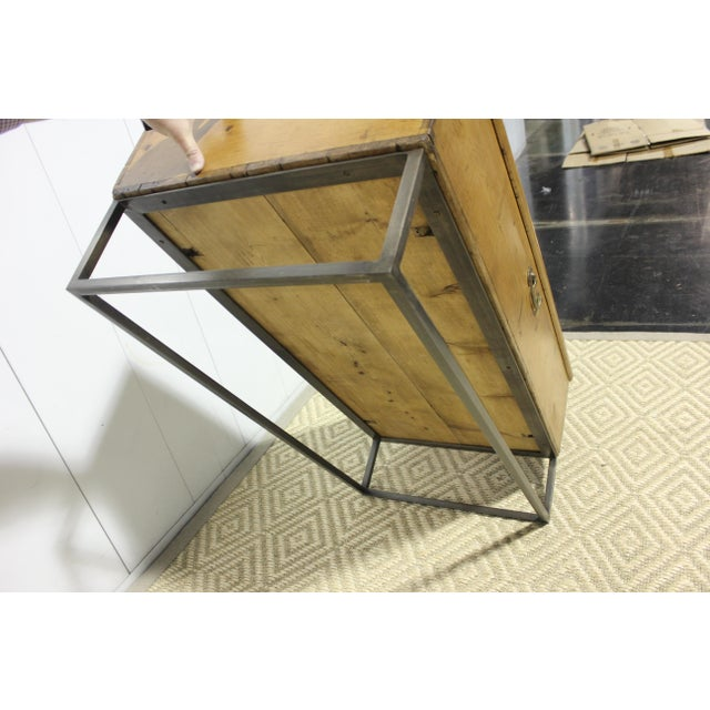 Metal 1970s French Country Trunk Coffee Table For Sale - Image 7 of 8