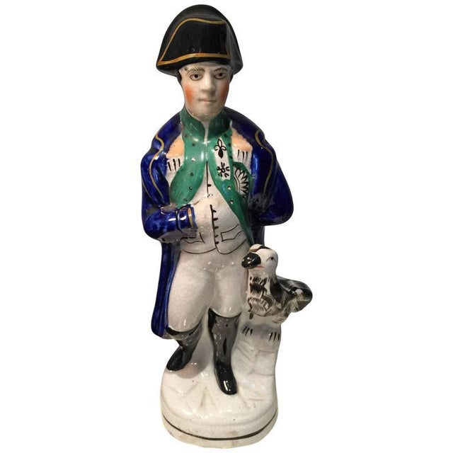 Staffordshire Figure of Napoleon For Sale
