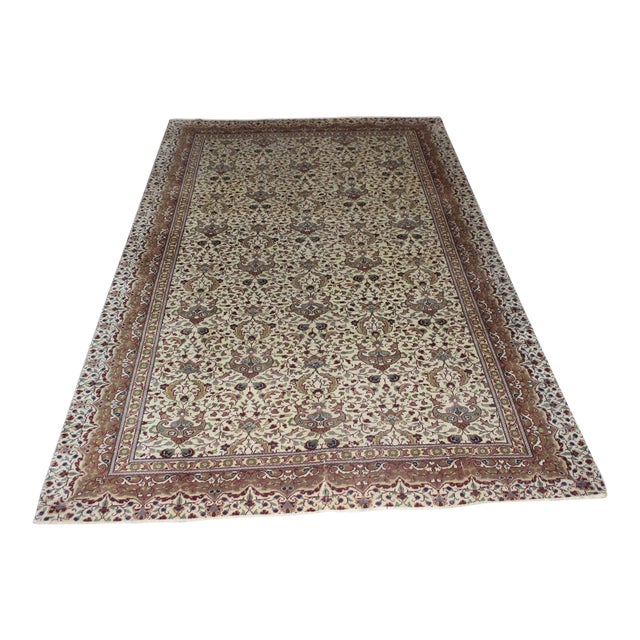 "Oriental Turkish Rug - 6'3"" x 9'8"" For Sale"