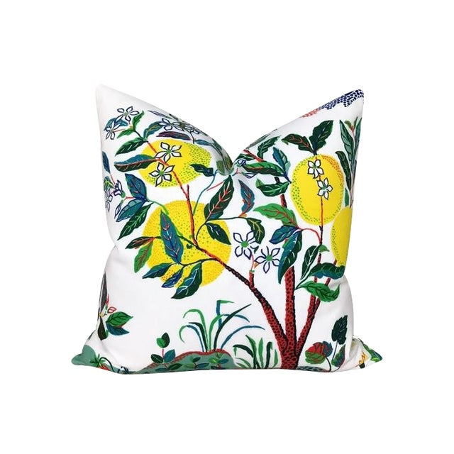Outdoor Citrus Garden Pillow Cover Chairish