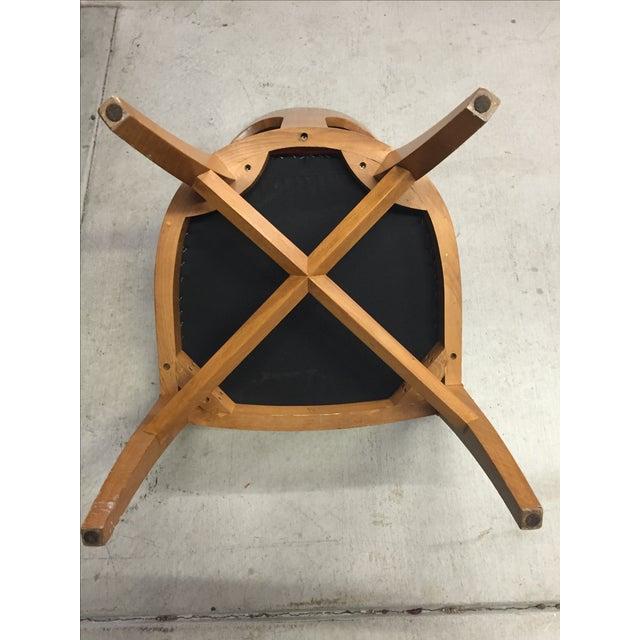 Vintage Mid-Century Modern Teak Chair - Image 7 of 9