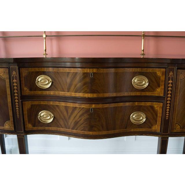 Councill Craftsman Mahogany Dining Room Sideboard