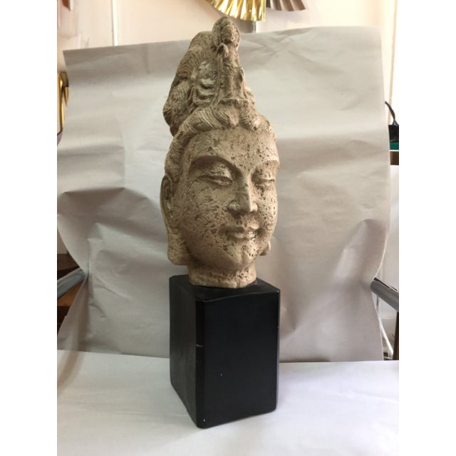 James Mont Style 1960's Buddha Head Sculpture - Image 2 of 9