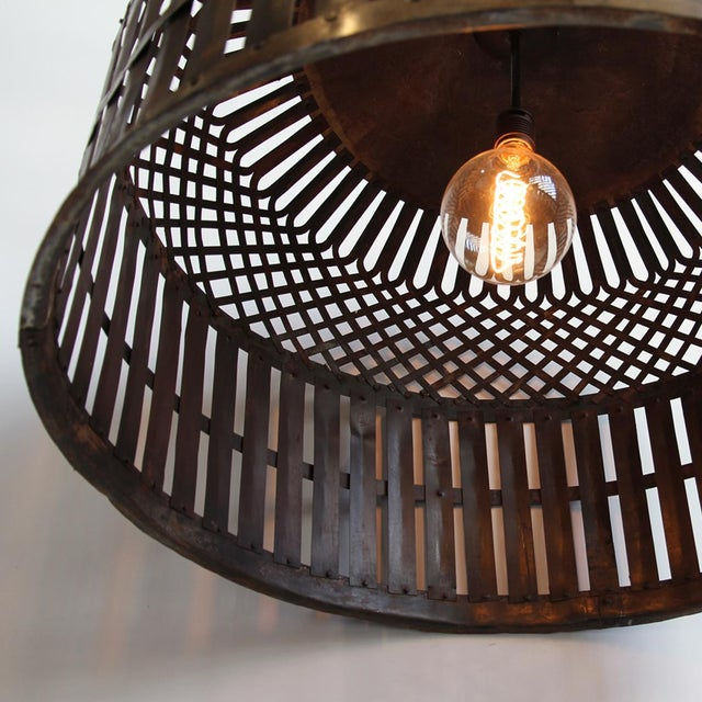 Industrial Cage Lantern - Image 3 of 3