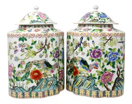 Image of Hollywood Regency Ginger Jars