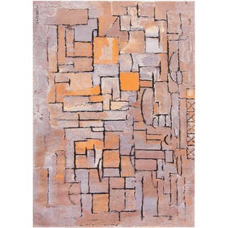 Scandinavian Swedish Wool Rug After Piet Mondrian - 8′ × 11′ For Sale
