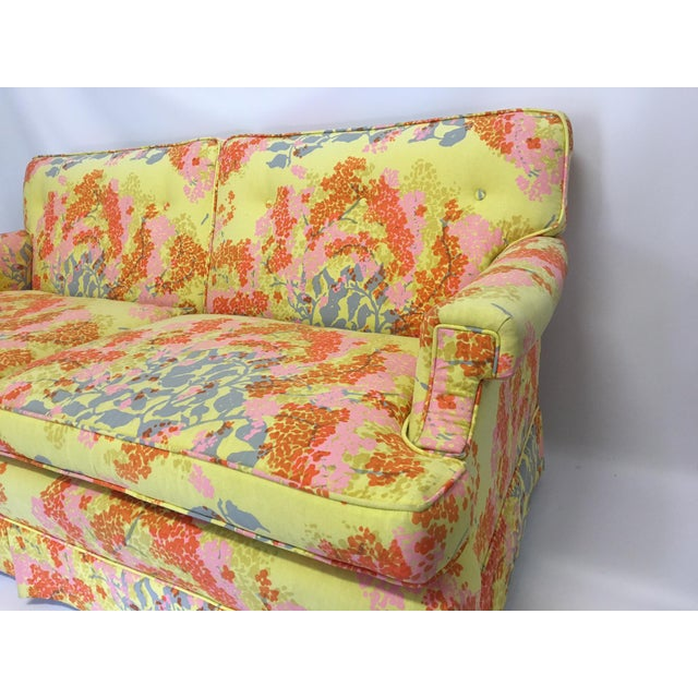 Dorothy Draper Floral Sofa - Image 3 of 6