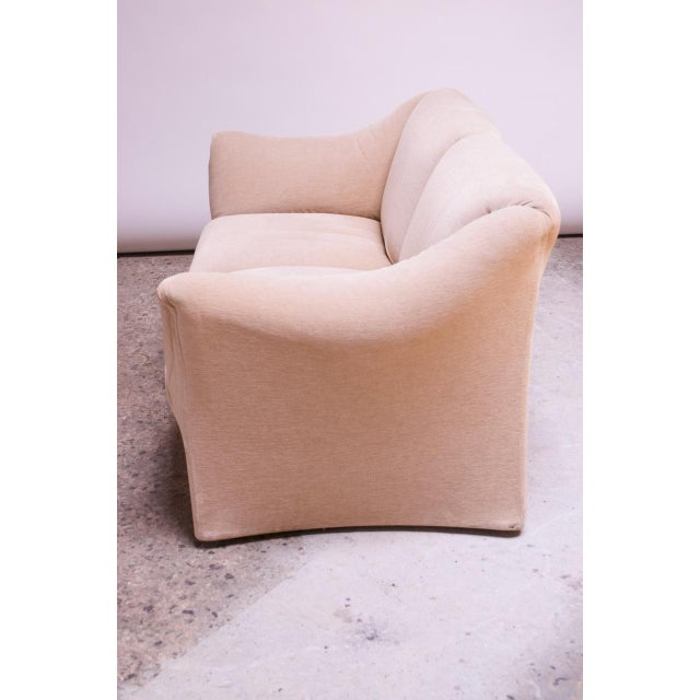 1970s Tentazione Loveseat Two-Seat Sofa by Mario Bellini for Cassina For Sale In New York - Image 6 of 13