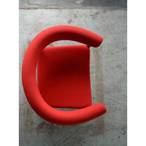 1960s Nanna Ditzel for Getama Ring Chairs in Walnut and Wool For Sale - Image 5 of 7
