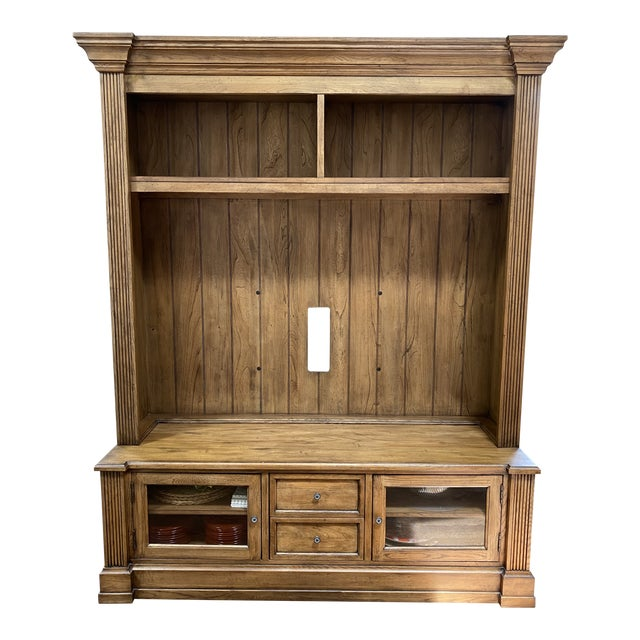Ethan Allen Media Cabinet For Sale