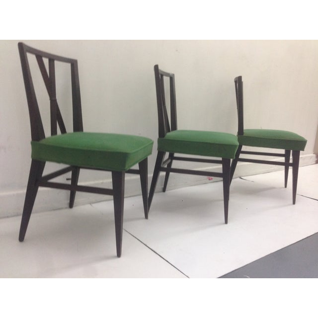Tommi Parzinger Cross Back Dining Chairs - Set of 3 - Image 2 of 5