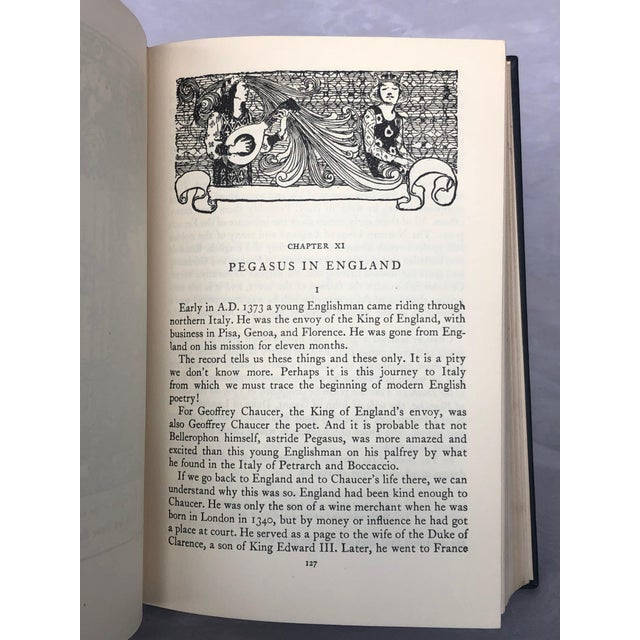 Vintage Book With Pegasus Cover Artwork For Sale - Image 10 of 13