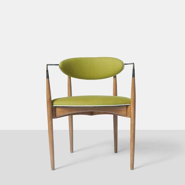 Dan Johnson Dan Johnson Set of Six Viscount Chairs For Sale - Image 4 of 8