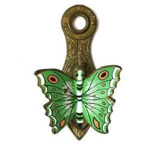 Vintage Brass Butterfly Note Clip