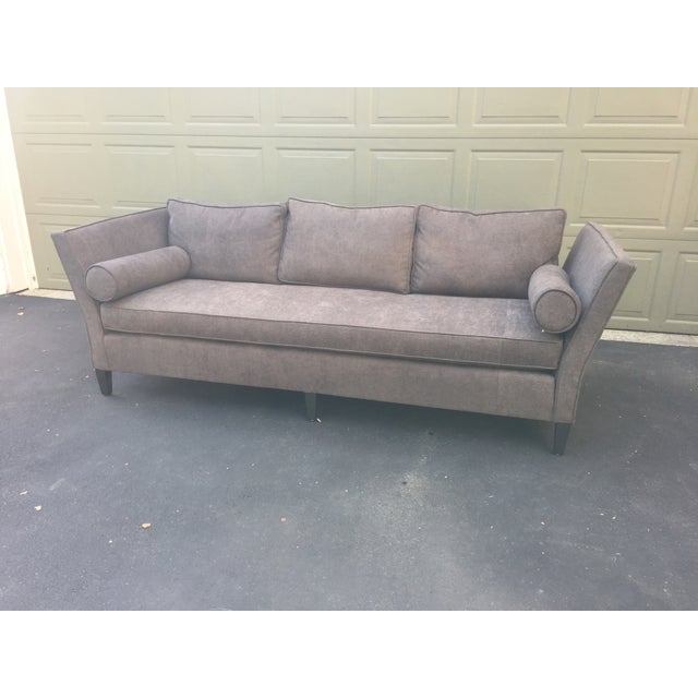 Parzinger Style Flare Arm Shelter Sofa - Image 5 of 11