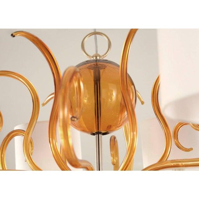 Italian Bionda Chandelier by Fabio Ltd For Sale - Image 3 of 7