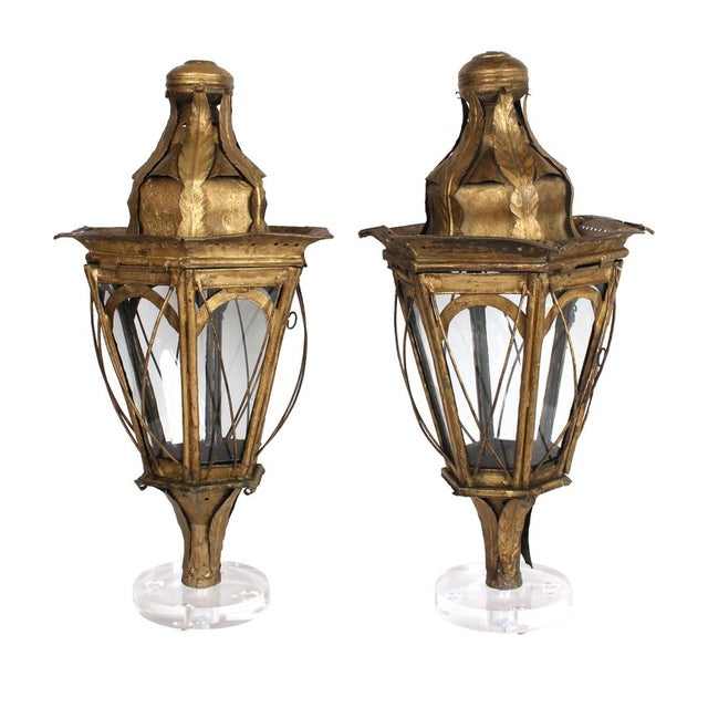 Pair of 19th Century Italian Processional Lanterns For Sale - Image 11 of 11
