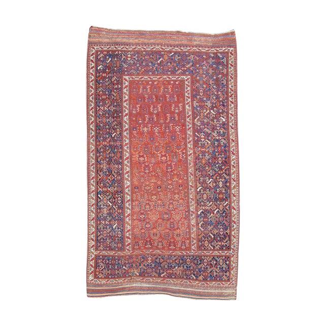 Afshar Tricillium Rug - 6′6″ × 11′ For Sale