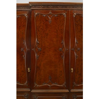 English Victorian Mahogany Armoire Cabinet Preview