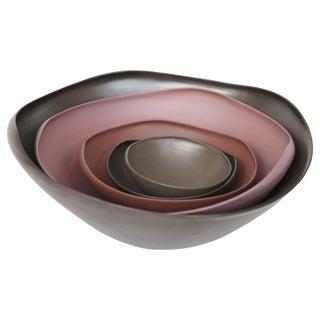 Rina Menardi Handmade Ceramic Conch Bowls For Sale