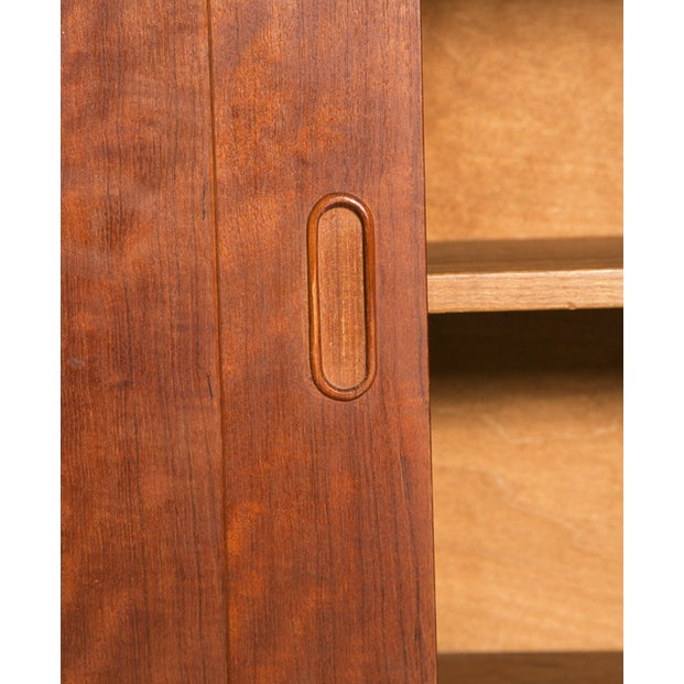 Danish Demi Credenza in Teak - Image 7 of 7